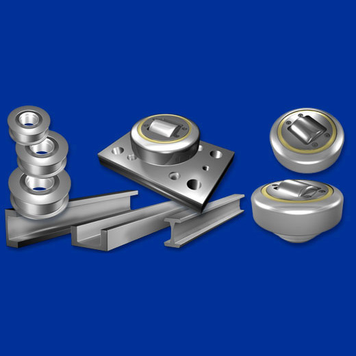Combined roller contact bearing